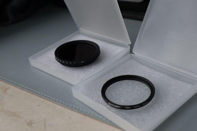 Filter K&F 52mm  MC UV + 52mm ND  Neutral Density Filter ND2 to ND400