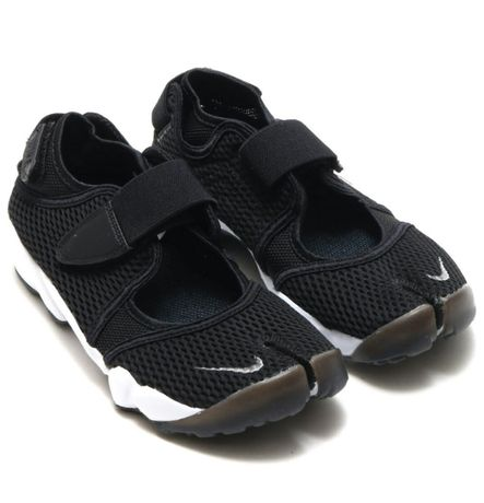 Кроссовки сандали Nike Air Rift Black x Adidas jogger Boost Climacool