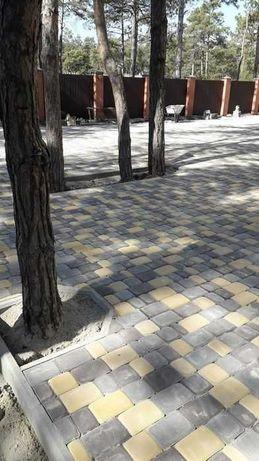 Тротуарная плитка, бордюры , водостоки от производителя