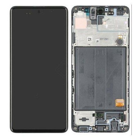 Oryginalny wyświetlacz / lcd Samsung A51, FV 23% , naprawa