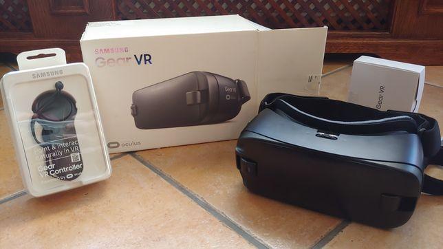 Zestaw okulary Samsung Gear VR Oculus + kontroler S7 S6 edge Note 5