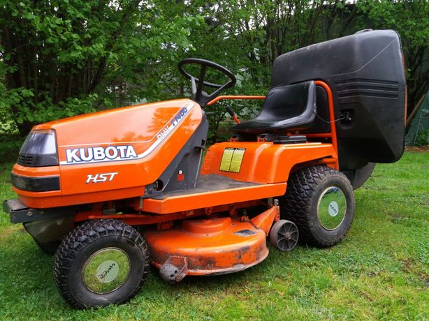 Traktorek kosiarka Kubota hst 1400 kosz do trawy