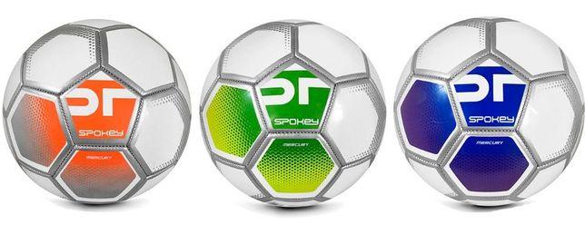 Качественный футбольный мяч Spokey размер 5 машинная сшивка
