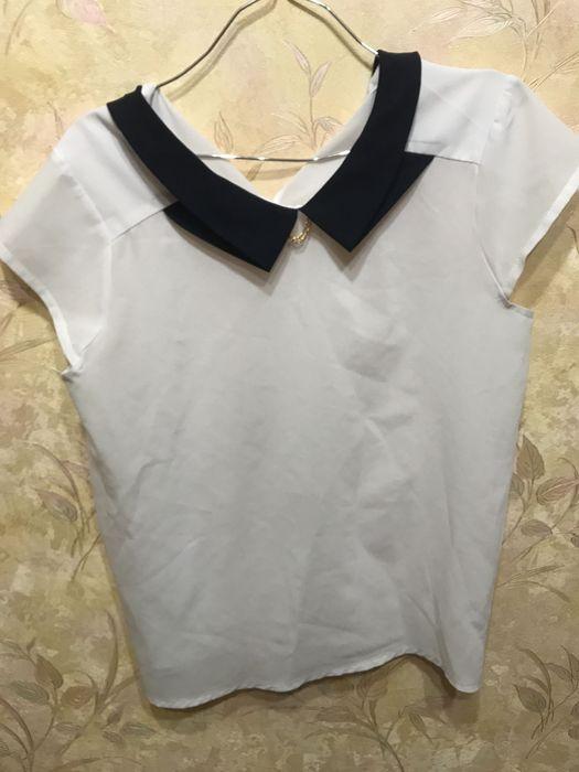 Женская блузка Белая Раздельная - изображение 1