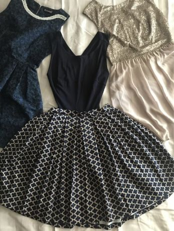 Платье миди, коктельное