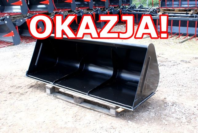 PROMOCJA Łyżka na traktor rolniczy ładowacz czołowy TUR szufla
