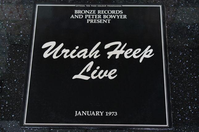 Uriah Heep - Uriah Heep Live, 1973, 2 x LP