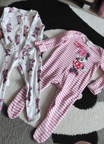 Śpioszki pajacyki piżamki 74