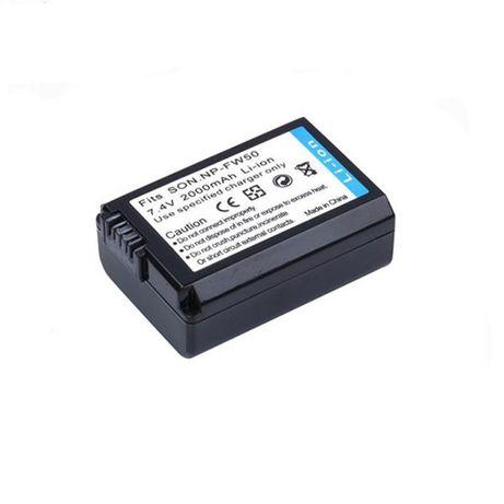 Z233 Bateria Sony NP-FW50 2000mAh a3000 a5000 a6000 a7R RX10 Novo!