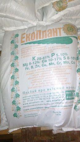 Екологічно чисте Добриво (удобрения экоплант) ЕкоПлант 20кг