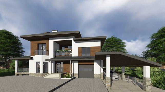 VIP будинок із «вічним» - керамічним дахом 5 км від м.Львів.