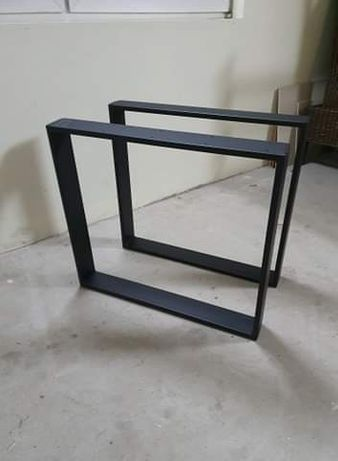 Metalowe nogi do stolu loftowego 80x20 80x71cm proszkowo malowane