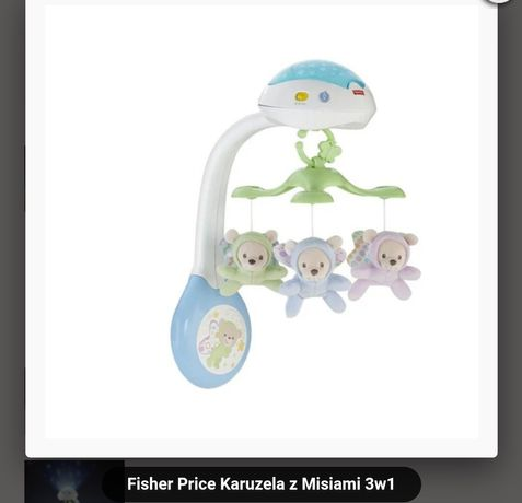 Karuzela Fisher Price