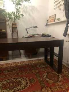 Biurko stylowe z dwiema szufladami