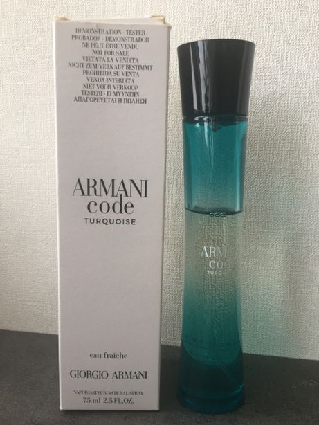 ARMANI code Turquoise Women ОРИГИНАЛ