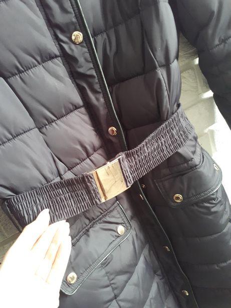 Carry kurtka z futerkiem roz M zimowa