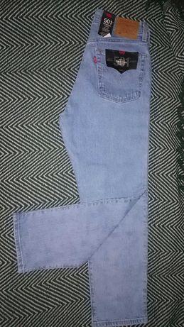 Nowe damskie spodnie Levi's Premium 501 cropped 28/26