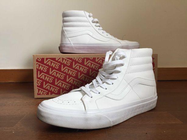 Vans Old Skool SK8 - High pele branco