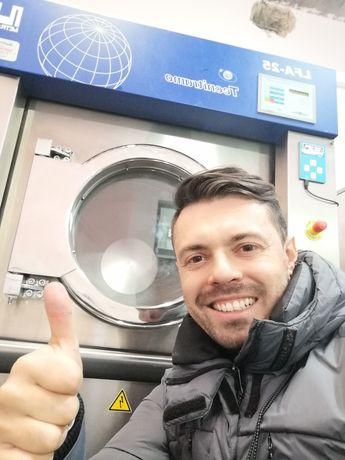 Máquina de lavar secar roupa casa de repouso lares Resesidência sénior