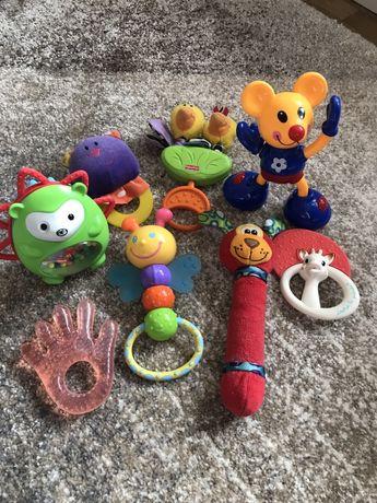 Іграшки брязкальця мобіль