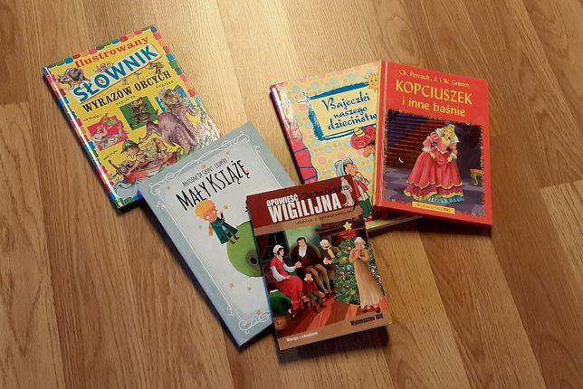 Oddam książeczki dla dziecka w idealnym stanie.