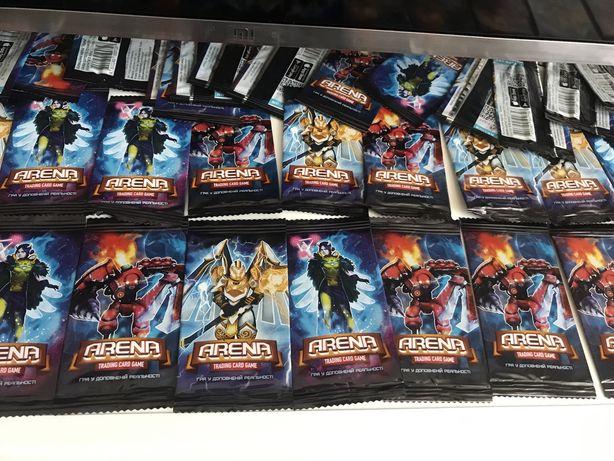 Атб арена новый сезо/ бесплатная доставка по Украине/ фишки / карточки