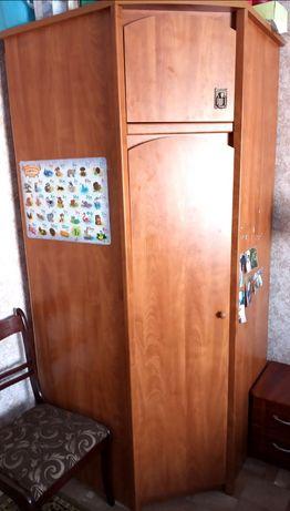 Чудесный угловой шкаф
