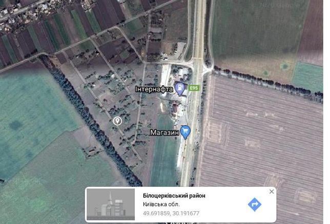 Продам земельный участок, 10сот., Белоцерковский р-н, Киевской обл.
