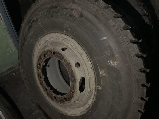 Koła ciężarowe na felgach pierścieniowych opony 12.00x20 polecam
