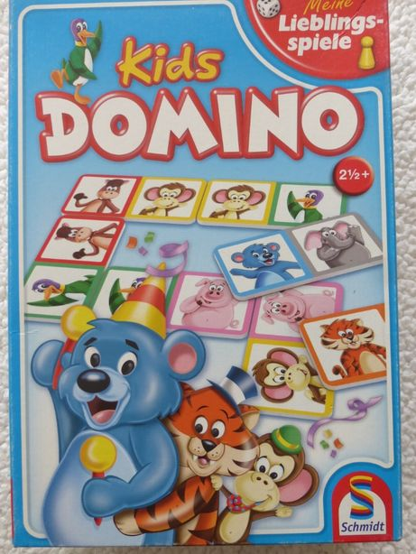 Домино Schmidt, для малышей, картон