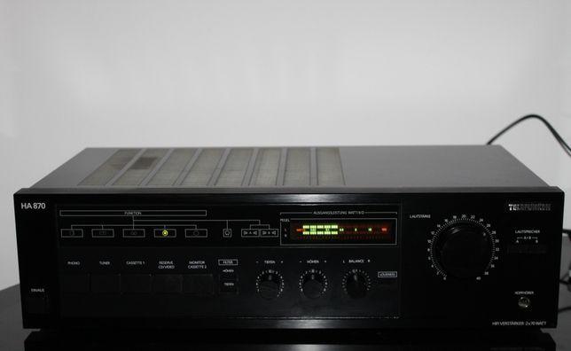 TELEFUNKEN H870 Mocny solidny wzmacniacz stereo hi-fi Wysyłka
