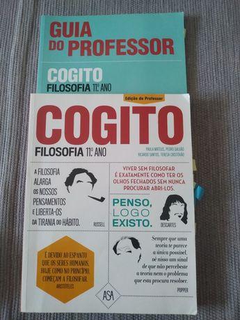 Livro Filosofia Cogito 11 ano Edição do professor