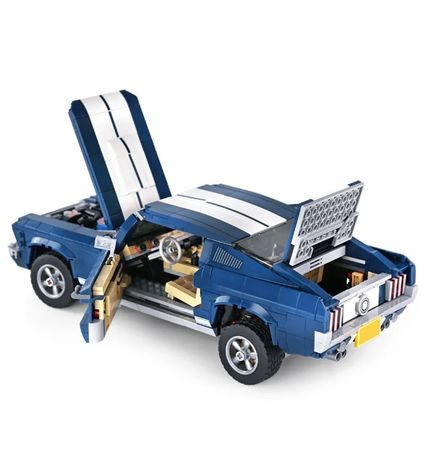 Set Lego carro / Ford Mustang GT 1967 / Azul