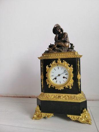 каминные часы, годинник камінний антикваріат.