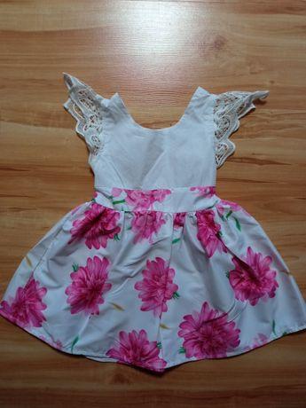 Śliczna sukienka letnia