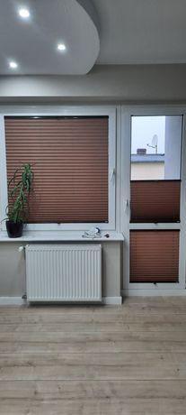 Plisa plisy okienna brąz 3 szt balkon