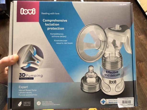 Новый LOVI Молокоотсос ручной Expert 3D Pumping