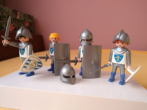 Playmobil figurki rycerze z lilią + film