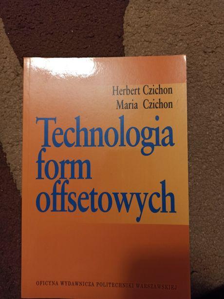 Książka technologia form offsetowych