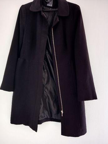 Tkaninowy płaszcz