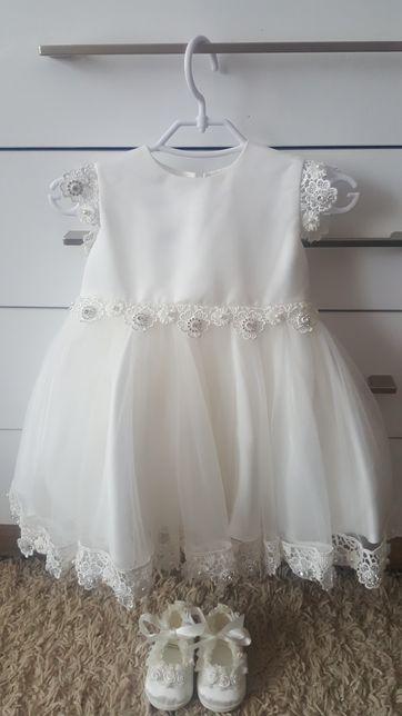 Sukienka na chrzest 68
