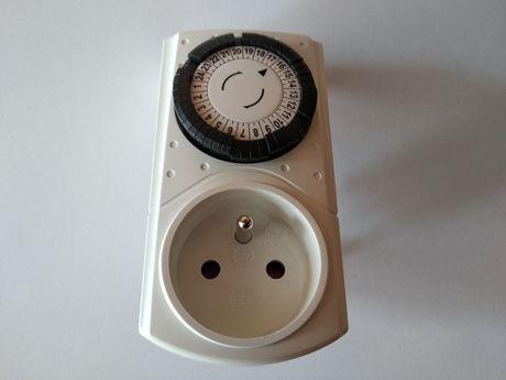 Programator czasowy mechaniczny do gniazdka z Obi