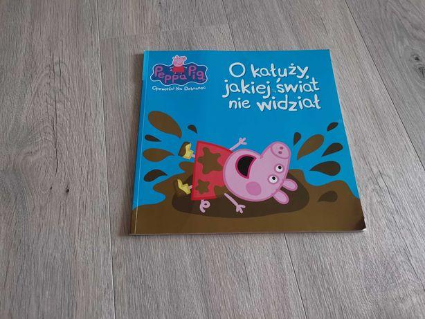 """Książka Peppa Pig """"O kałuży, jakiej świat nie widział"""""""