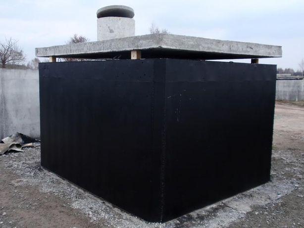 szambo 12m3 zbiornik na ścieki betonowy dwukomorowy producent szczelny