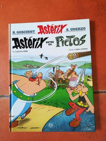 27 livros de Asterix Cartonados