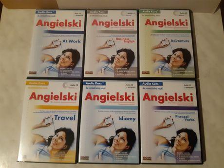 Audio Kurs - angielski 6 x CD - dla średnio zaawansowanych - Edgard