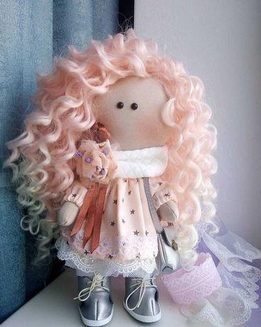 Інтер'єрна лялька ручної роботи