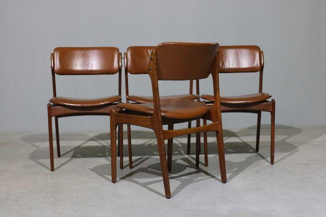 NOVIDADES | 4 cadeiras de jantar Erik Buch em pau santo