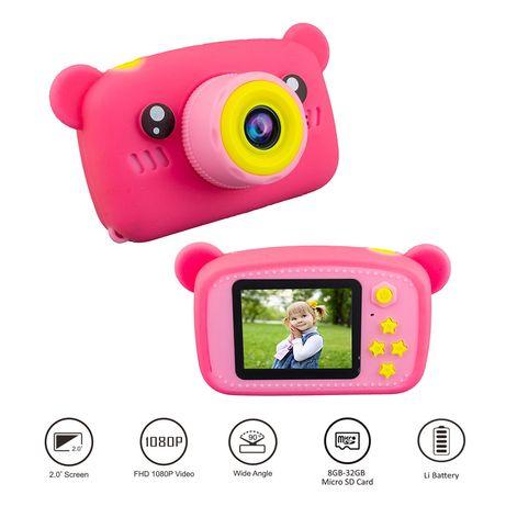 Aparat fotograficzny cyfrowy Miś kamera gry filtry