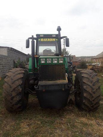Самодельний трактор Бизон